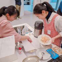 上越校で初のクッキングイベント Let's cook 開催!!